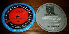Miles Davis Rare 50th Anniversary Promo Sticker Decal Kind Of Blue LP HTF OOP