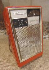 Vintage transistor radio Silvertone 6