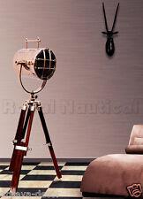 Nautical Spotlight Searchlight Desk/Floor Lighting Tripod Floor Lamp Home Decor
