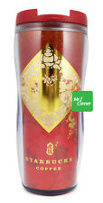star287 12oz starbucks Chinese Year Red Gold Tiger Tumbler NEW