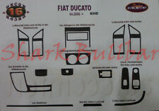 DUCATO JUMPER RELAY BOXER 2006-2013 Dash Trim Kit 3M 3D Wood Effect 16 Parts RHD
