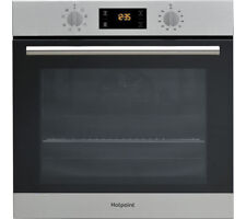 NEW HOTPOINT SA2544CIX Electric Built In Single Oven Catalytic 60cm 13AMP Plug