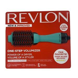 Revlon Pro Collection Salon One-Step Hair Dryer and Volumizer Teal RVDR5222TEAL