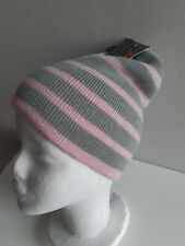 Rjm Accessories - Kids - Striped Knitted Beanie Hat - Age 10-13 Yrs