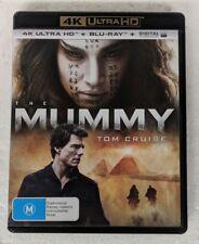 THE MUMMY - 4K ULTRA HD DVD + Blu-ray Region B oz seller Tom Cruise