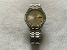 Orient Crystal 21 Jewels Vintage Automatic Winding Men's Mechanical Watch
