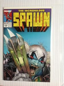 SPAWN # 226 HULK HOMAGE COVER FIRST PRINT IMAGE COMICS