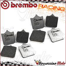 8 PLAQUETTES FREIN AVANT BREMBO RACING CARBON RC CAGIVA X-RAPTOR 1000 2003 >