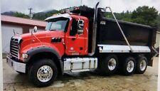 Dump Truck Tarp System 4 Spring Electric Aluminum Flip Tarp Kit up to 24' Long