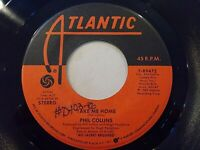 Phil Collins Take Me Home / Only You Know And I Know 45 1985 Vinyl Record