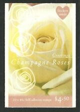 1998 Australia - Greetings - Champagne Roses Booklet 10 x 45c