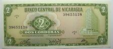 - Très beau billet - NICARAGUA - 2 Cordobas - 1972 -