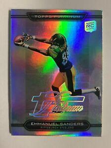 2010 Topps Platinum Emmanuel Sanders Rookie Card Thick