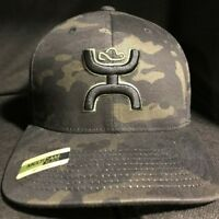 New 2019 Hooey Chris Kyle Punisher Camo Hat CK016-02 Flexfit L/XL