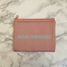 Superdrug - Hashtag No Filter Needed Peach Pink Makeup Cometic Bag Pouch - BNIB