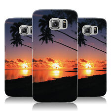 LEANING PALM TREE SUNSET BEACH PHOTO CASE COVER FOR SAMSUNG GALAXY MOBILE PHONES