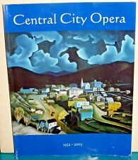 Central City Opera 1932-2003 Program Gabriel's Daughter