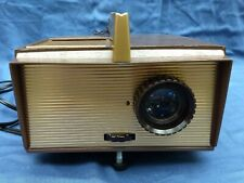 Vintage 1950's Ansco Dualet Projector Original Box with Instructions and Tags +