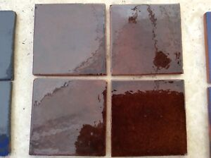 MEXICAN WALL TILES HAND MADE Cafe 70 Tiles Only Covers 0.8 M2 £32