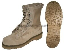 NIB US Military BATES 790 ICB Goretex Combat Boots Vibram Sole TAN 16 REGULAR