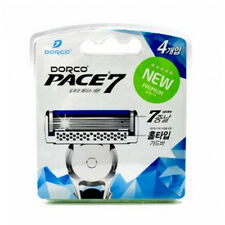 NEW Premium World's first 7razor blades DORCO PACE7 x 4pcs