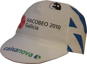 Retro Xacobeo 2010 Galicia Pro Cycling Team cap fast shipping