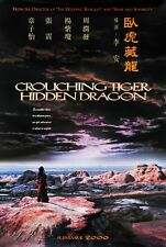 CROUCHING TIGER, HIDDEN DRAGON (2000) ORIGINAL CHINESE ADV MOVIE POSTER - ROLLED