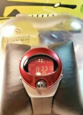 NEW / RARE / VINTAGE SPOON FASHION by PULSAR / PZX019S / RED LCD PANEL