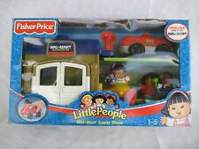 Fisher Price Little People Walmart Super Center Super Store Set In Original Box