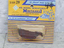 Roco Minitanks (New) 1/87 Z-159 Wwii Us Weasel Amphibious Armore Craft Lot 2511