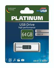 Platinum USB-Stick 64 GB Slider 177655 USB 2.0