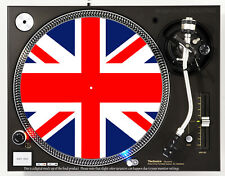 UNION JACK - DJ SLIPMAT 1200's or any turntable, record player