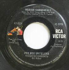 50'S & 60'S 45 Pee Wee Spitelera - Wabash Cannonball / Detour On Rca Victor