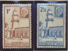 Somali Coast (Djibouti) Stamps Scott #181 To 182, Mint Lightly Hinged