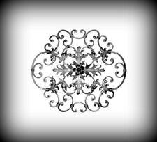 Rosette 615x615 mm Zierelement Schmiedeeisen Zaun Ornament Tor Geländer 10-062