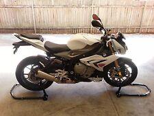 HEAVY DUTY MOTORCYCLE MOTORBIKE BIKE REAR &FRONT STAND, Free Flats, Hooks