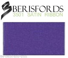 Glitter Satin Ribbon 10 Colours 3 Widths 4 Lengths by Berisfords Liberty #952 10mm X 1mtr