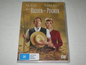 Richer Or Poorer - Tim Allen - Brand New & Sealed - Region 4 - DVD