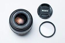 Minolta AF Zoom 35-70mm f3.5-4.5 lens Caps & Filter (#1805)