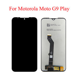 2021 LCD Display Assembly Touch Screen Digitizer for Mototorola Moto G9 Play