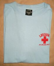 Lifeguard Hawaii T Shirt Hawaiian Surf Swim Beach Pool Boy
