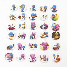 20pcs Cute POCOYO Cartoon Character Pin Button Brooch Badges Kids Children Toy