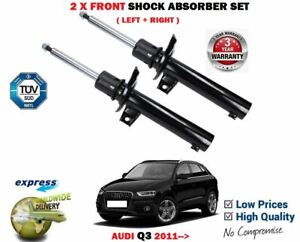 FOR AUDI Q3 1.4 2.0 TFSi TDi RS 2.5 Quattro 2011-> 2X FRONT SHOCK ABSORBER SET