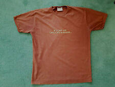 """Thorntons t shirt chest 42"""" """"If I can't eat chocolate in heaven then ..........."""