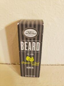 Beard Oil Art of Shaving Bergamot & Neroli Essential Oil 1 oz.