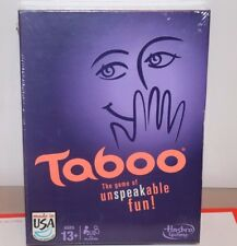 (NEW SEALED) TABOO HASBRO FAMILY NIGHT BOARD GAME CARD GAMES PARTY GROUP FUN