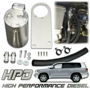 HPD OIL CATCH CAN SEPERATOR FOR TOYOTA 200 SERIES LANDCRUISER V8 DIESEL 2007-18
