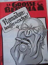 LA GROSSE BERTHA N° 59 de MARS 1992 WILLEM  LE PEN RAMADAN !