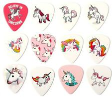 Unicorn Guitar Picks set of 12 Premium Plectrums