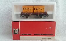 JOUEF HO/OO GAUGE 6450 DOUBLE CONTAINER WAGON BAILLY.  NEW CELLOPHANE WRAPPED